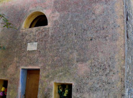 Castelvittorio (IM): Cappella di San Sebastiano (705 m. s.l.m.)